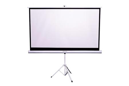 100 inch Tripod Projector Screen Hire Melbourne | Craig Williams Promotions