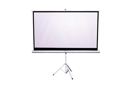 82 inch Tripod Projector Screen Hire Melbourne | Craig Williams Promotions