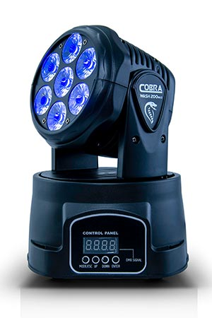 AVE Cobra Wash 200 mk2 LED Light Hire Melbourne | Craig Williams Promotions