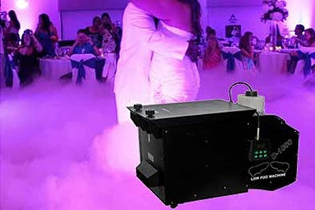 Dry Ice - Fogger Machine Hire Melbourne | Craig Williams Promotions