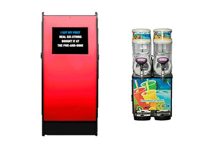 Karaoke Jukebox with Cocktail Machine Hire Package | Craig Williams Promotions