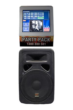 Party Pack Portable Jukebox Hire Melbourne | Craig Williams Promotions