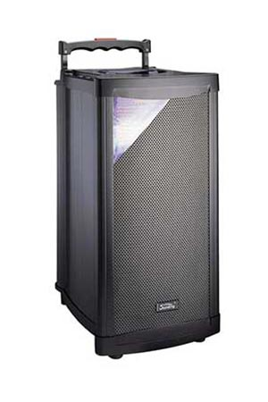 Portable 45W Battery Powered PA System Hire | Craig Williams Promotions