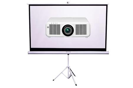 Projector & 82 inch Tripod Screen Package Hire Melbourne | Craig Williams Promotions