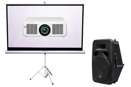 Projector & Screen Hire Package Deal 2 | Craig Williams Promotions