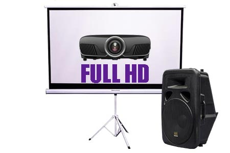 Projector & Screen Hire Package Deal 3 | Craig Williams Promotions