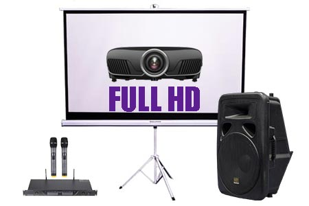 Projector & Screen Hire Package Deal 6 | Craig Williams Promotions