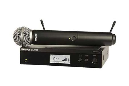 Single Wireless Microphone System Hire | Craig Williams Promotions